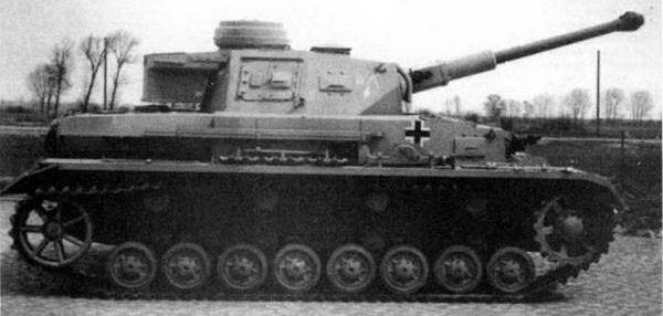 Средний танк Pz-IV Ausf.F2. 1943 г.