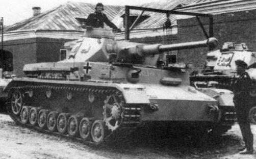 Средний танк Pz-IV Ausf.G. 1943 г.