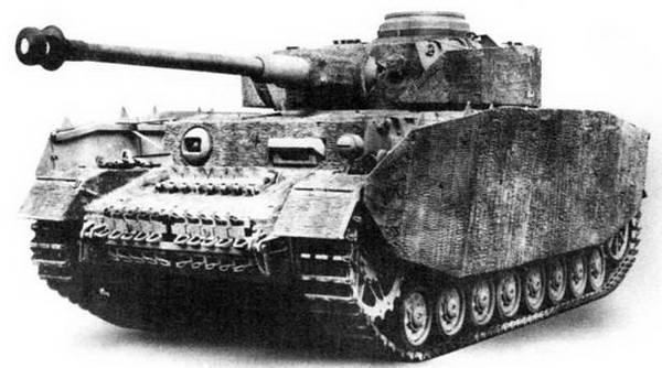 Средний танк Pz-IV Ausf.H. 1943 г.