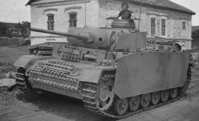 Командирский танк Pz.Bef.Wg. lll Ausf.L. 1943 г.