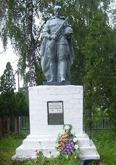 с. Белоречица Прилуцкого р-на. Братская могила воинов, погибших в боях за село.