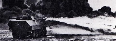 Самоходный огнемет Flammpanzerwagen (Sd. Kfz.251/16). 1943 г.