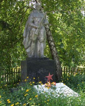 с. Воровского Прилуцкого р-на. Памятник, установленный на братской могиле воинов, погибших в боях за село.
