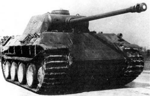 Тяжелый танк Panzerkampfwagen V Panther Ausführung D. 1944 г.
