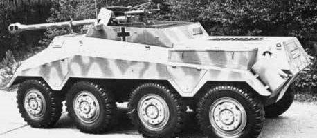 Тяжелый бронеавтомобиль Sd.Kfz.234/4. 1944 г.
