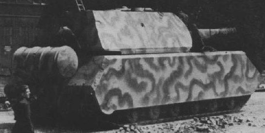 Сверхтяжелый танк Panzerkampfwagen «Maus». 1945 г.