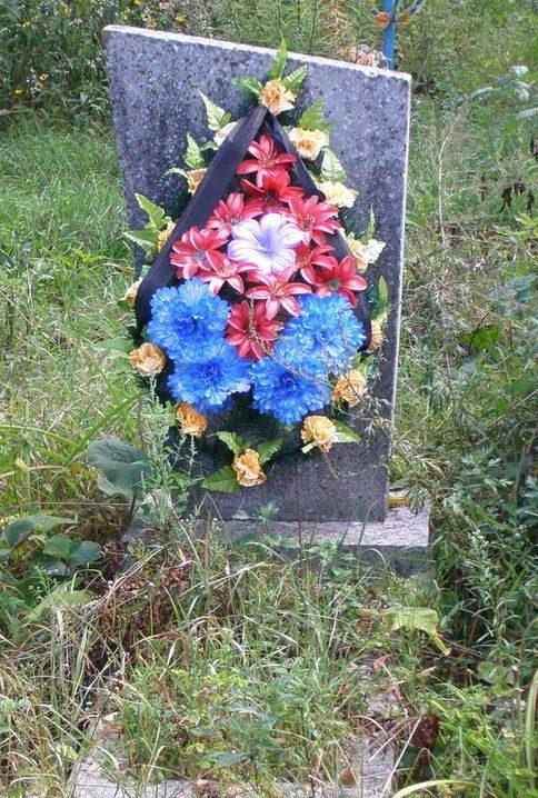 с. Низковка Сновского р-на. Братская могила на кладбище воинов, погибших в боях за село.