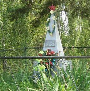 с. Роище Черниговского р-на. Братская могила воинов, погибших при освобождении села в 1943 году.