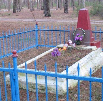 г. Сновск(Щорск).. Братская могила мирных жителей.