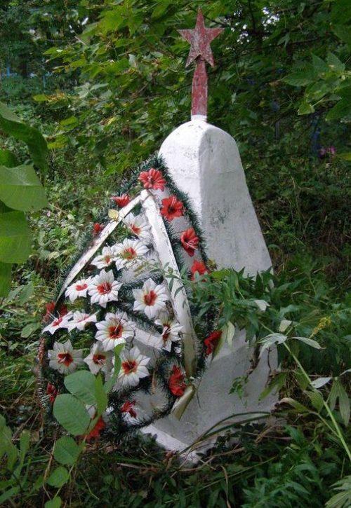 с. Слобода Черниговского р-на. Братская могила воинов, погибших при освобождении села.