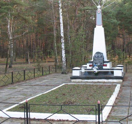 г. Сновск (Щорск). Братская могила 5500 мирных жителей, активистов и партизан, расстрелянных нацистами в годы войны.