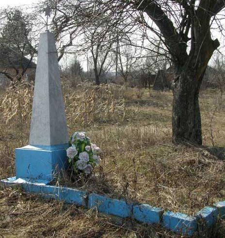 с. Шевченко Черниговского р-на. Могила неизвестного солдата.