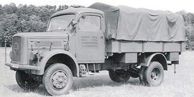 Грузовик «Klöckner-Deutz-Magirus A-3000» (A-330). 1943 г.