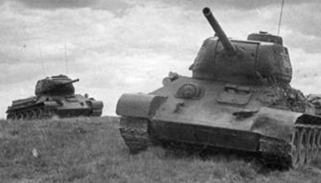 Красная Армия на подступах к Орше.