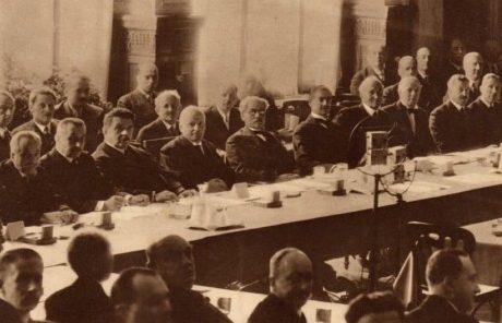 Пленарное заседание конференции. 25 июня 1932 г.