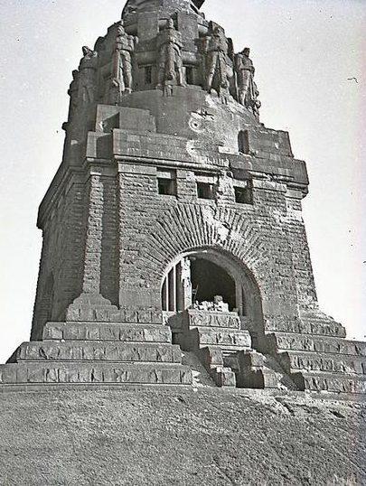 Мемориал «Битве наций», высотой 91 м.
