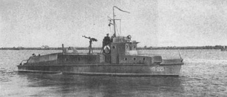 Катер Дунайской флотилии.