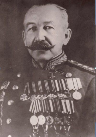 Генерал-полковник П. А. Белов.