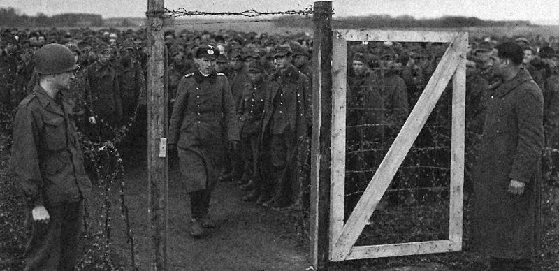 300 000-й пленный, взятый 1-й армией США.