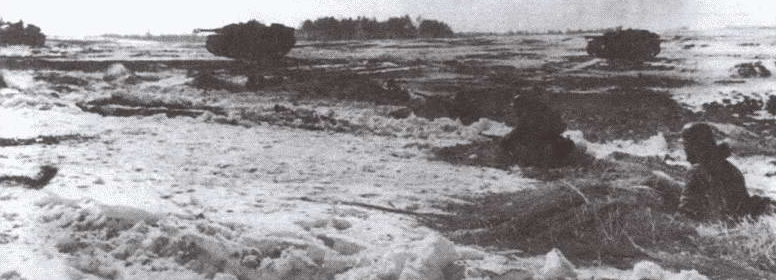 Пехотинцы 131-й пехотной дивизии продвигаются к Ковелю. Июль 1944 г.