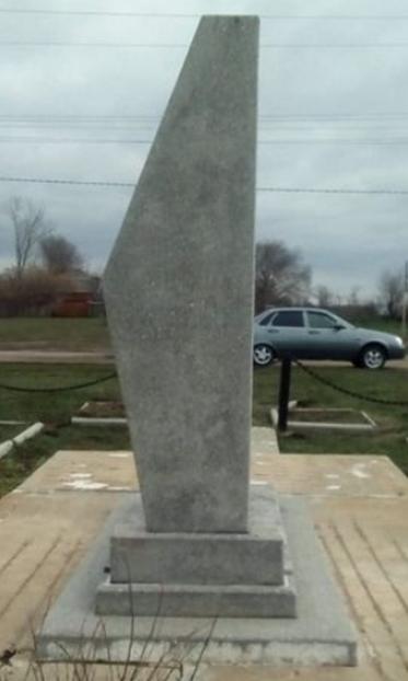 ст-ца. Воскресенская Новоалександровского р-на. Памятник землякам, погибшим в годы войны.