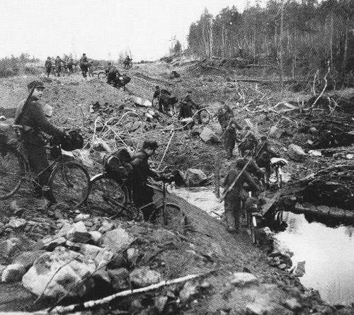 Финны в Лапландской войне.