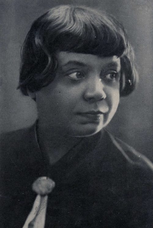 Писательница Л. Н. Сейфуллина.