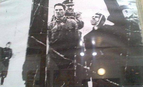 Казнь подпольщиков, принимавших участие в восстании.
