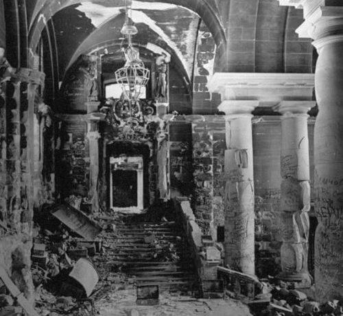 Внутри Рейхстага после боев.