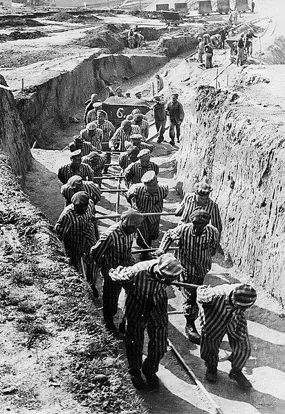 Трудовой лагерь Маутхаузен. 1941 г.