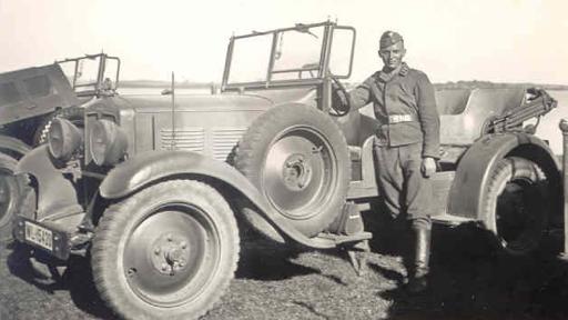 Автомобиль «Adler 12N-RW». 1938 г.