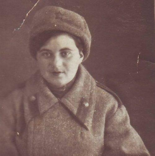 Стрелок Ида Лахман. 1943 год.