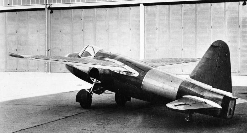 Экспериментальный реактивный истребитель «Хейнкель He.178». 1939 г.