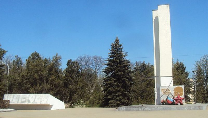 г. Георгиевск. Памятник советским воинам, погибшим в годы войны.