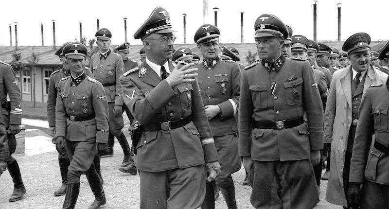 Генрих Гиммлер в Маутхаузене. Июнь 1941 г.