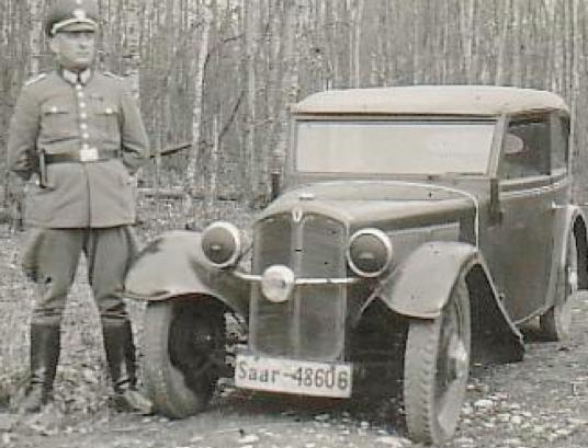 Автомобиль «DKW F-2 Cabrio-Limousine». 1938 г.