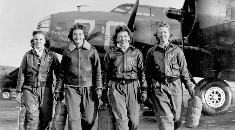 Женщины-пилоты из WAFS.