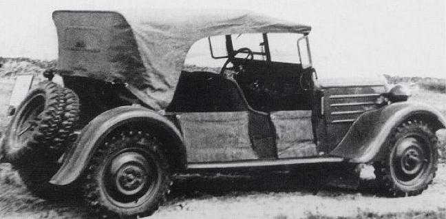 Внедорожник «Röhr Junior 6/30 PS». 1938 г.