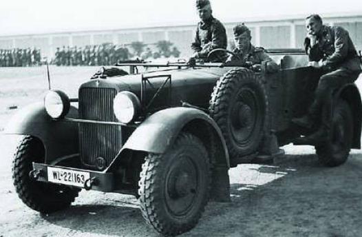 Внедорожник «Stoewer M-12-RW». 1938 г.