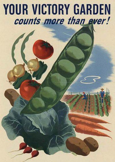 Агитационный плакат «сада победы».