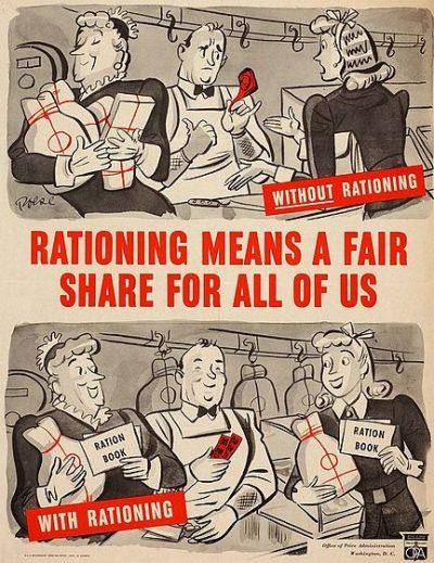 Агитационный плакат против накопления.