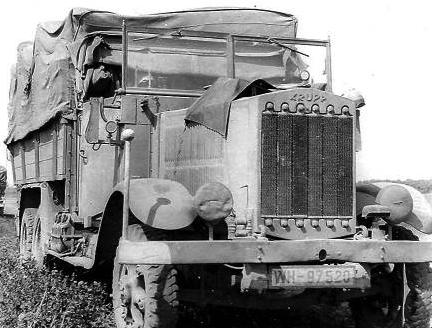 Грузовик с тентованным кузовом «Krupp L-3H-163». 1938 г.