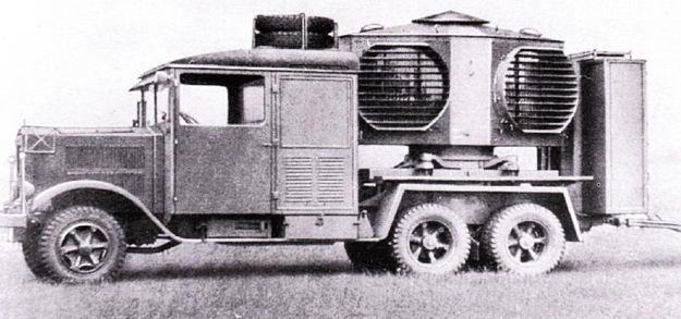 Специальный грузовик «Magirus М-206». 1938 г.