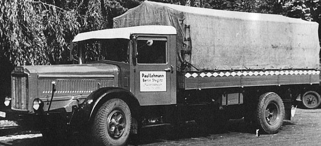 Грузовик «Vomag 6-LR» (653). 1938 г.