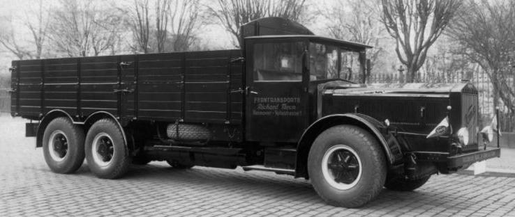 Грузовик «Vomag 8-LR». 1938 г.