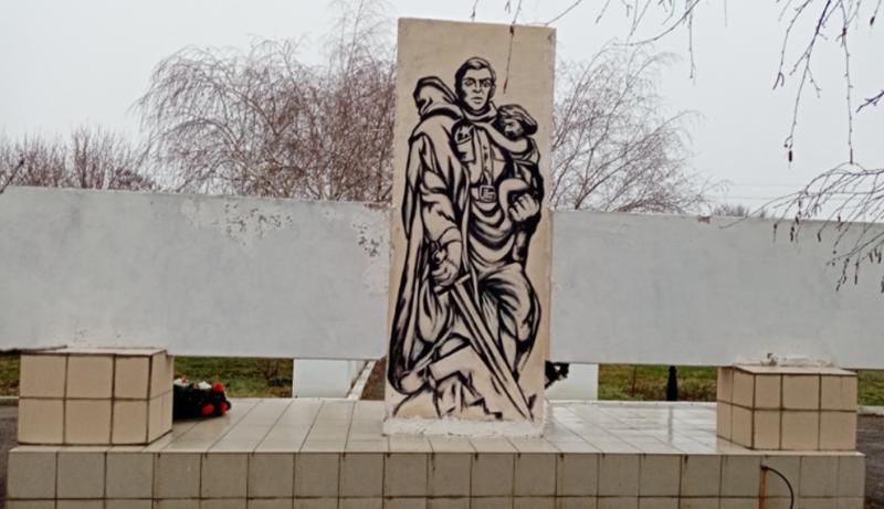 ст-ца. Новозаведенное Георгиевского р-на. Мемориал павшим советским воинам.