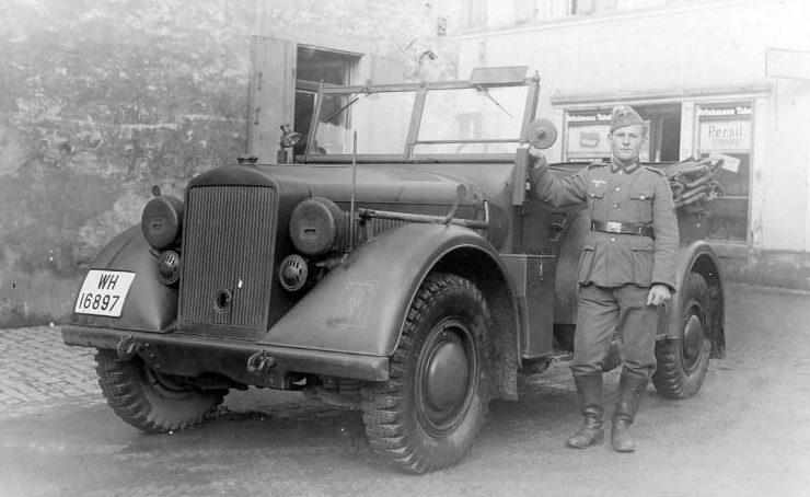 Автомобиль «Horch 901» (Kfz.15). 1939 г.