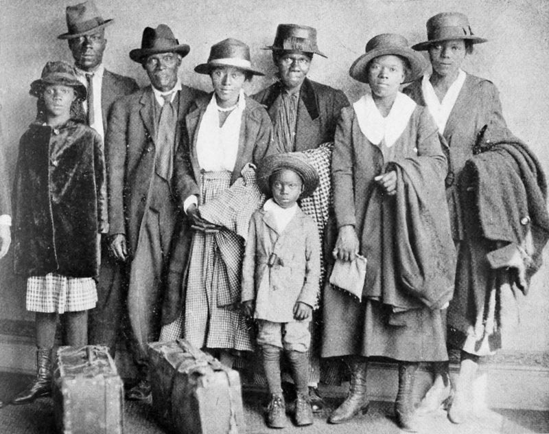 Переселенцы с Юга.