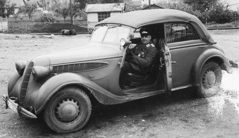 Автомобиль «BMW 326 Cabriolet» на службе Люфтваффе.1939 г.