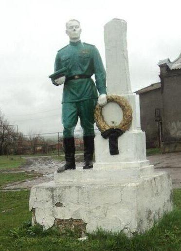 с. Дубовая Балка Андроповского р-на. Могила неизвестного воина, погибшего в годы войны.